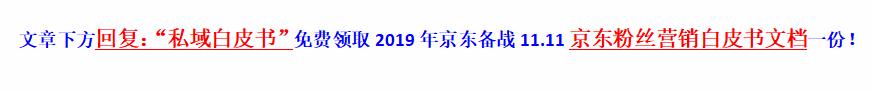 2019年京东11.11搜索排序规则探讨